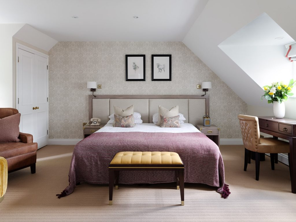 Bedroom at Eastwell Manor - Champneys Hotel and Spa