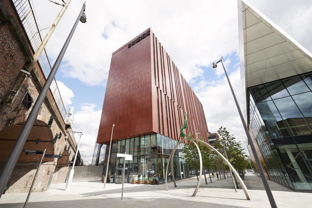 INNSIDE Manchester Melia Exterior View