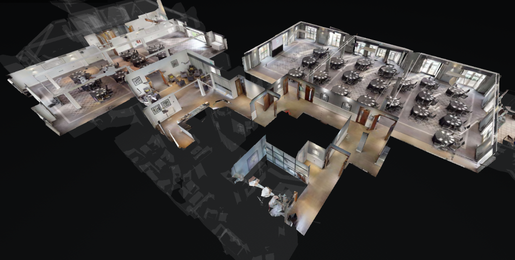 3D model Floor Plan - Formby Hall