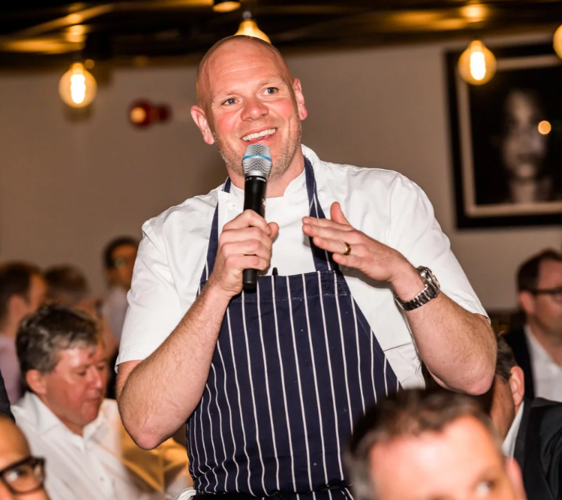 Tom Kerridge event at Twickenham Stadium